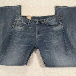 NEW Levi's Medium Wash Slim Bootcut Jean sz 36x34